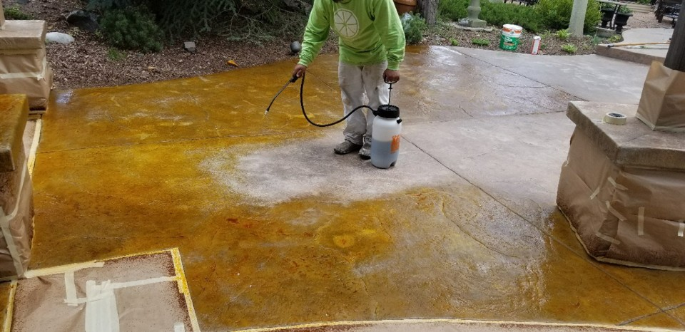lime floor coating