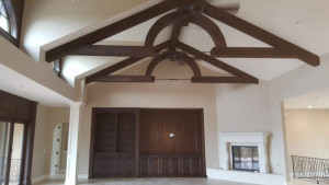 commercial painting services beams after