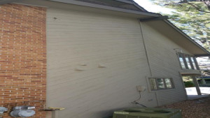 exterior painting service side before