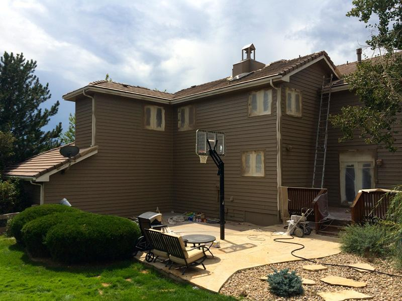 Standard Siding Lime Painting Of Castle Rock
