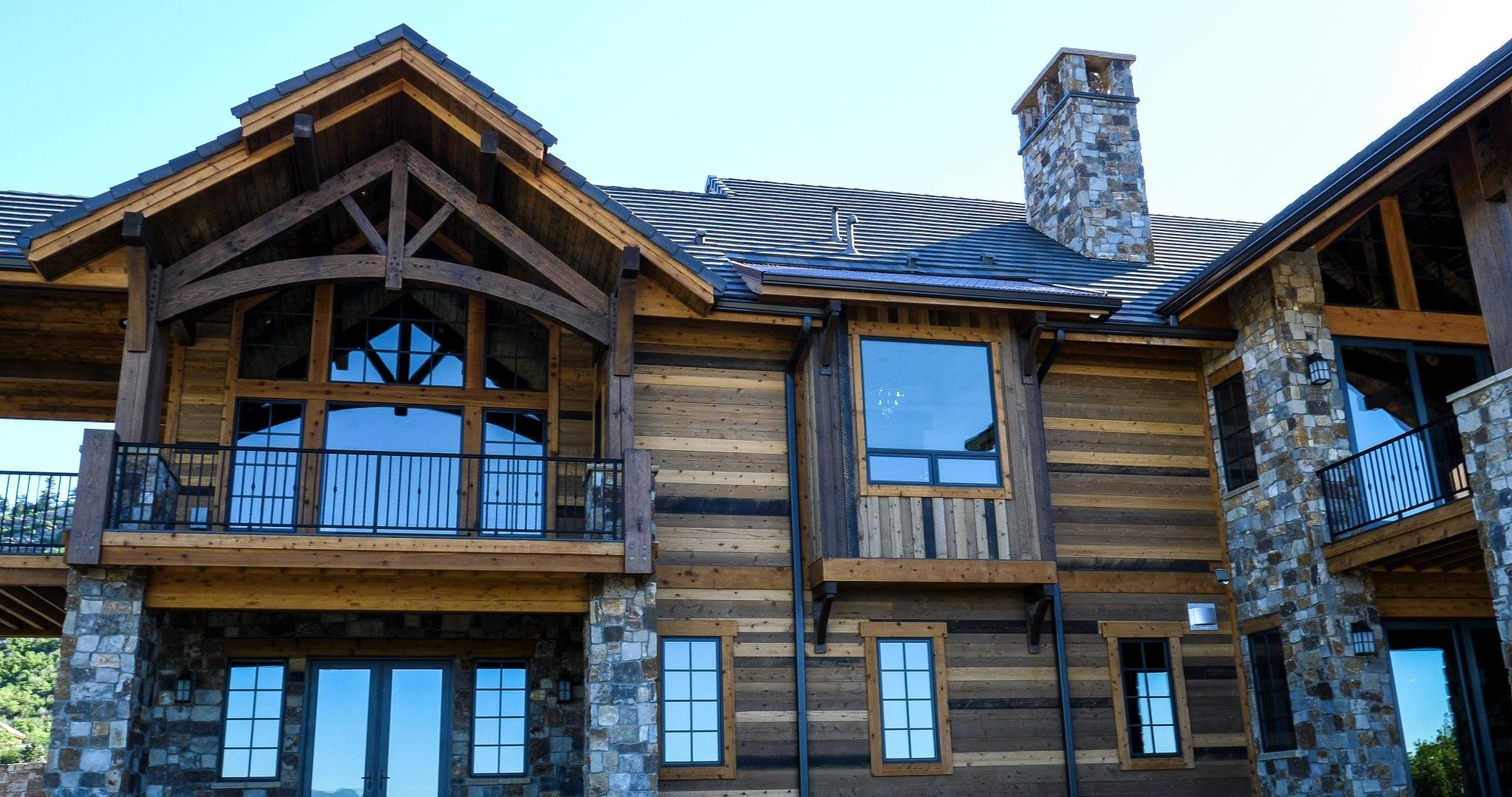 Castle Pines Village Custom Renovation Lime Painting Of