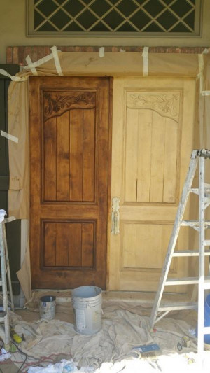 wood door repair services mid production 2