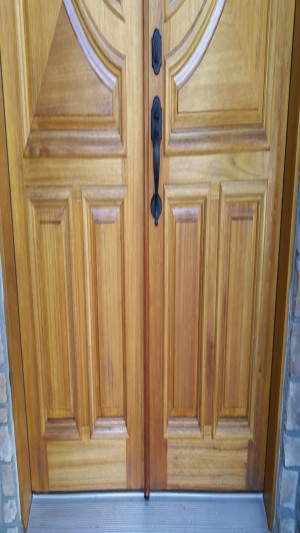 interior exterior painting services entry door before 2