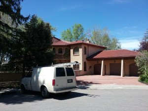 commercial painting companies in denver front before