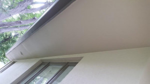 residential painting company soffit after