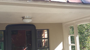gutter repair and replacement services after ceiling patch