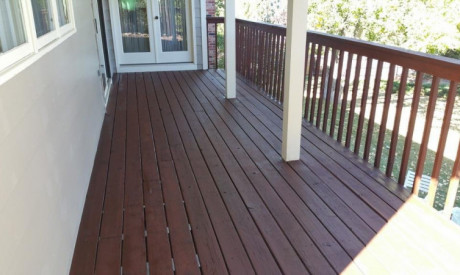 DECK STAIN RESTORATION in Mesa View Estates, CO