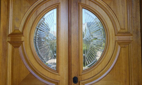 ENTRY DOORS RESTORATION in Hyde Park At Polo Club, CO