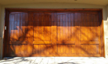 GARAGE DOOR STAIN RESTORATION in Hilltop, Denver, CO