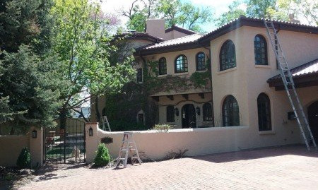 STUCCO RESTORATION in Denver Country Club, CO
