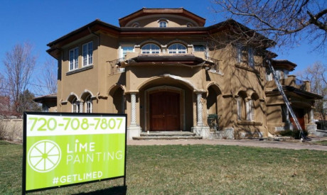 STUCCO RESTORATION in Hilltop neighborhood, CO